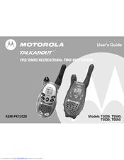 motorola talkabout t5530 manuals rh manualslib com Motorola Talkabout User Guide Motorola Talkabout Blue
