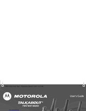 motorola talkabout t5820 manuals rh manualslib com Motorola XPR 6580 Motorola XTS2500