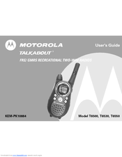motorola talkabout t6530 user manual pdf download rh manualslib com motorola talkabout t5200 user guide motorola talkabout t5022 user manual