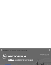 Motorola 53872 - Drop-In 10-Hour Charging Tray User Manual