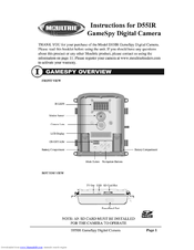 Moultrie game cameras mcg-12589 manual.
