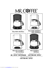 mr coffee nlx30 manuals rh manualslib com mr. coffee dehydrator user manual mr coffee owners manual