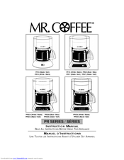 mr coffee prx20 manuals rh manualslib com mr coffee owners manual-bvmc mr coffee owners manual