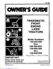 mtd 548 manuals rh manualslib com MTD Lawn Tractor Parts MTD Lawnflite 1986