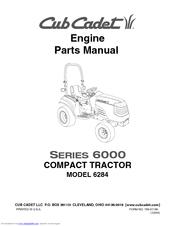 Cub Cadet 6284 Engine Parts Manual