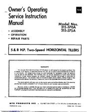 mtd service manual free