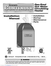 Boiler service: munchkin boiler service manual.