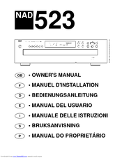 nad 523 manuals rh manualslib com Quick Reference Guide Word Manual Guide