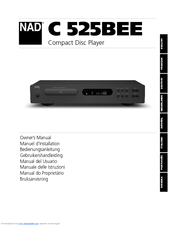 nad c 525bee owner s manual pdf download rh manualslib com