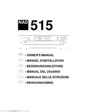 nad 515 manuals rh manualslib com