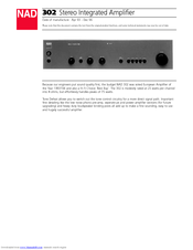 nad 317 user guide user guide manual that easy to read u2022 rh sibere co NAD Electronics Amplifiers Nad Components