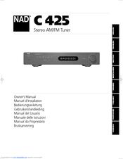 nad c 425 owner s manual pdf download rh manualslib com nad l40 service manual pdf nad l40 manual pdf