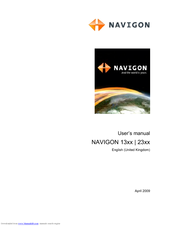 navigon 1300 manuals rh manualslib com navigon user manual User Manual PDF