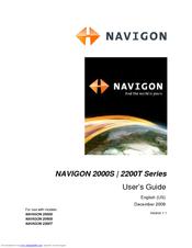 navigon 2000s series user manual pdf download rh manualslib com Navigon 2100 Manual Navigon 2100 Accessories