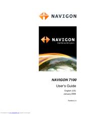 navigon 7100 manuals rh manualslib com NAVIGON Support Navigon 2100 Manual