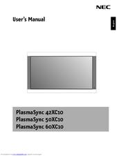 nec plasmasync 50xc10 manuals rh manualslib com Quick Reference Guide Online User Guide