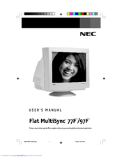 NEC MS77F97F User Manual