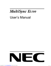 MULTISUNC E1100 DRIVER PC