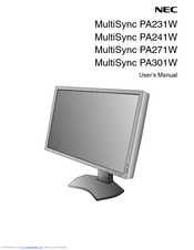 nec multisync pa301w manuals rh manualslib com User Guide Template Clip Art User Guide