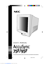 NEC AS75F - AccuSync 75F - 17