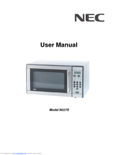 NEC Model N227S User Manual