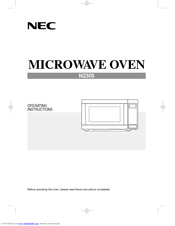 NEC N230S Operating Instructions Manual