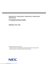 NEC IP8800/S3600 Series Troubleshooting Manual