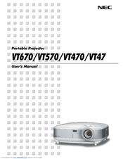 nec vt676 series manuals rh manualslib com One for All Manual nec vt 660 service manual
