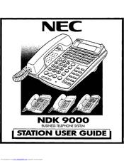 NEC NDK 900 USER MANUAL Pdf Download