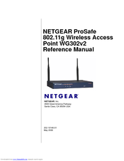 NETGEAR WG302v1 Wireless Access Point Vista