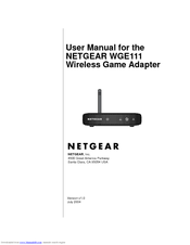 Manuals And User Guides For NETGEAR WGE111