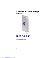 NETGEAR WPN824IS Setup Manual