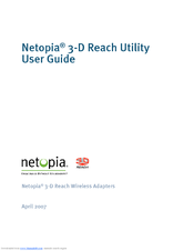 netopia 3 d reach utility manuals rh manualslib com Netopia DefaultPassword Netopia Wireless USB Card