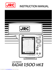 JRC Radar 1000 Instruction Manual