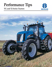NEW HOLLAND TG SERIES PERFORMANCE MANUAL Pdf Download. on
