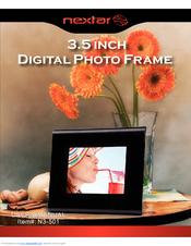 nextar n3 501 digital photo frame manuals rh manualslib com Nextar Chocolate Nextar GPS Software
