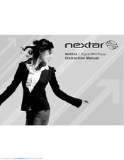 nextar ma933a instruction manual pdf download rh manualslib com Nextar MA933A MP3 Player Nextar MA933A MP3 Player