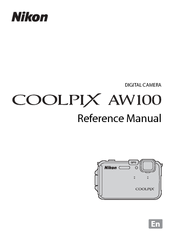 Manual for nikon aw100.