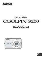 nikon coolpix s200 user manual pdf download rh manualslib com Nikon Coolpix L100 Nikon Coolpix S800c