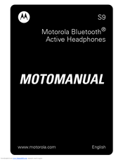 Motorola 89323N User Manual