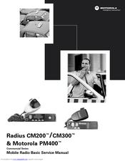 motorola radius cm200 basic service manual pdf download rh manualslib com Motorola Radius CM200 Microphone Motorola Radius Cm300