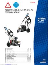 Nilfisk-ALTO POSEIDON 5-54 DE User Manual 14 Pages