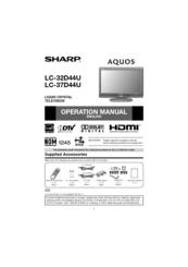 sharp aquos lc 32d44u manuals rh manualslib com