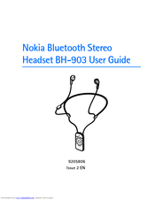 nokia bh 903 user manual pdf download rh manualslib com Nokia Stereo Nokia Bluetooth Headphones 2