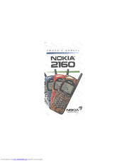 Nokia 2160 Owner's Manual