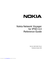Nokia IPSO 4.0 Reference Manual