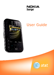 Nokia Surge User Manual