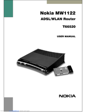 Nokia MW1122 User Manual