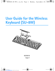 Nokia SU-8W - Wireless Keyboard User Manual