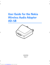 Nokia AD-5B User Manual